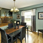 Staged Dining Room Newmarket