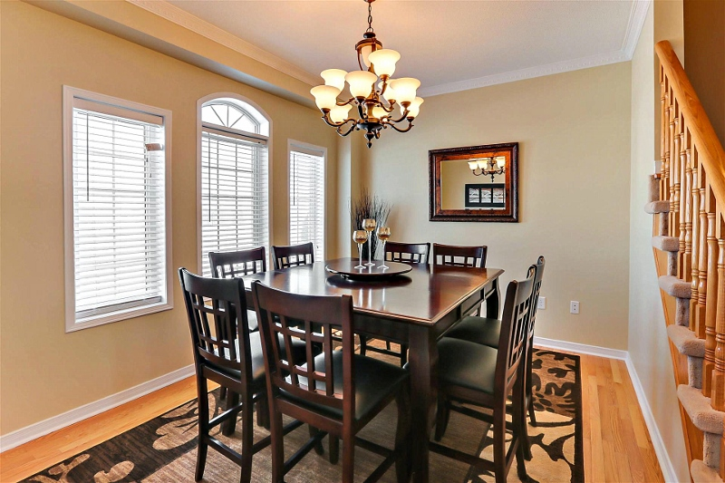 Staged Dining Room Markham