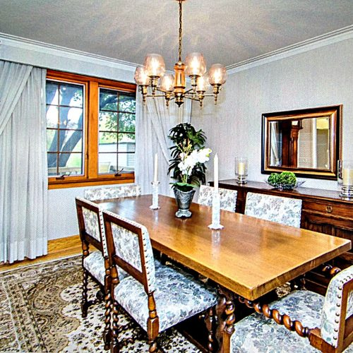 Staged Dining Room Toronto
