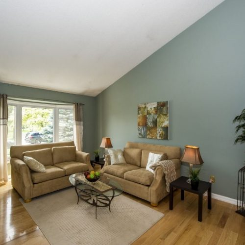 Staged Living Room Newmarket