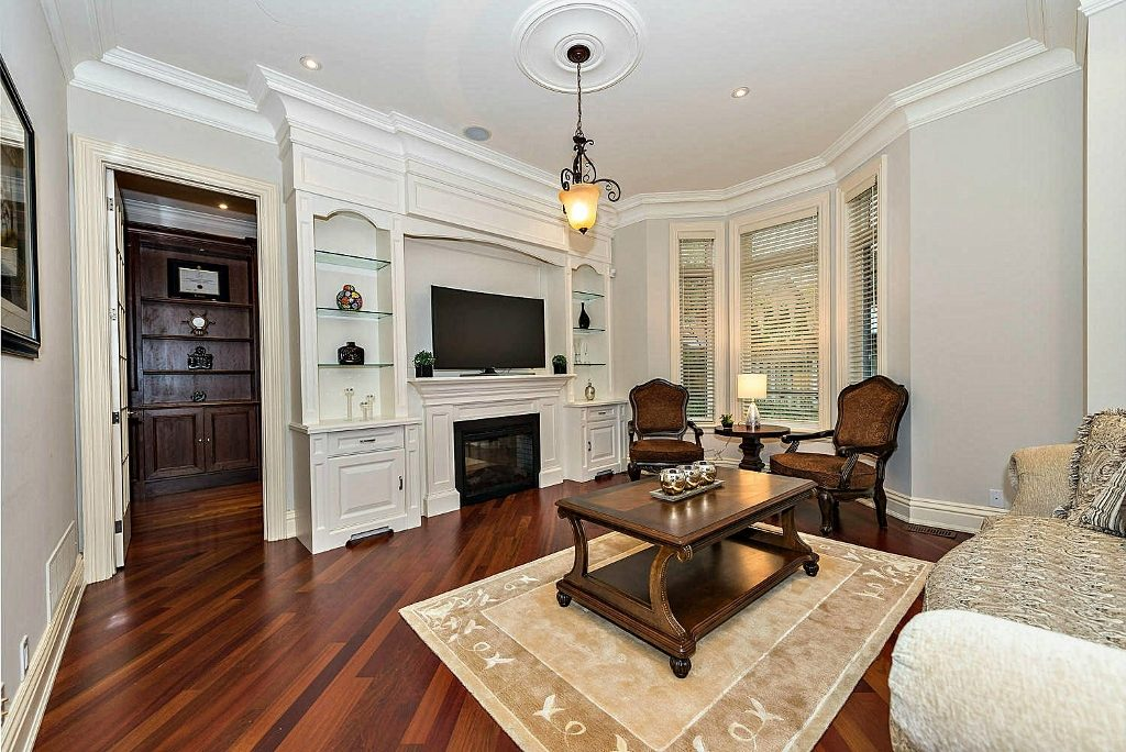 Staged Family Room North York