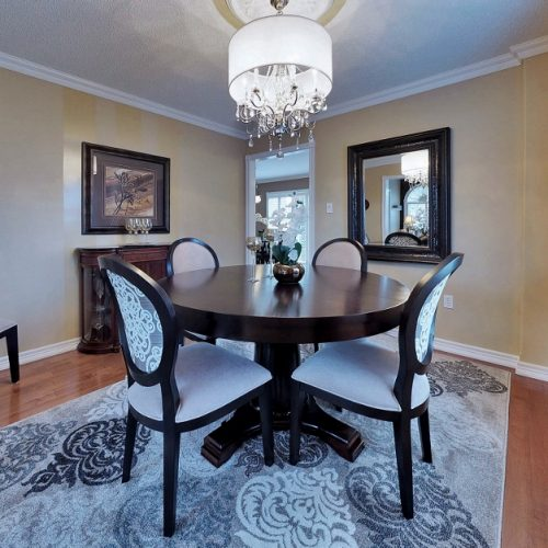 Staged Dining Room Richmond Hill