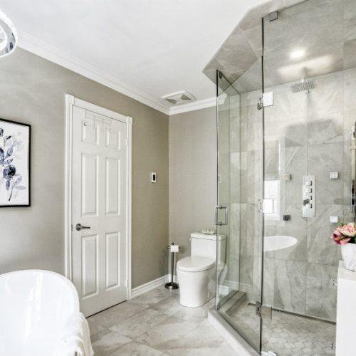 Staged Bathroom